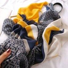 Lenço de inverno de marca de luxo, lenço de leopardo feminino, pashminas macias, xales e cachecóis, hijab muçulmano sjaal, estampa animal leopardo, cabo 4.