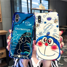 Cute Doraemon Phone Case For Honor 9i Play Silicone Soft IMD TPU Cover For Huawei Mate 9 10 20 Pro Lite Nova 2 2s Plus 3 3i 3E 4(China)