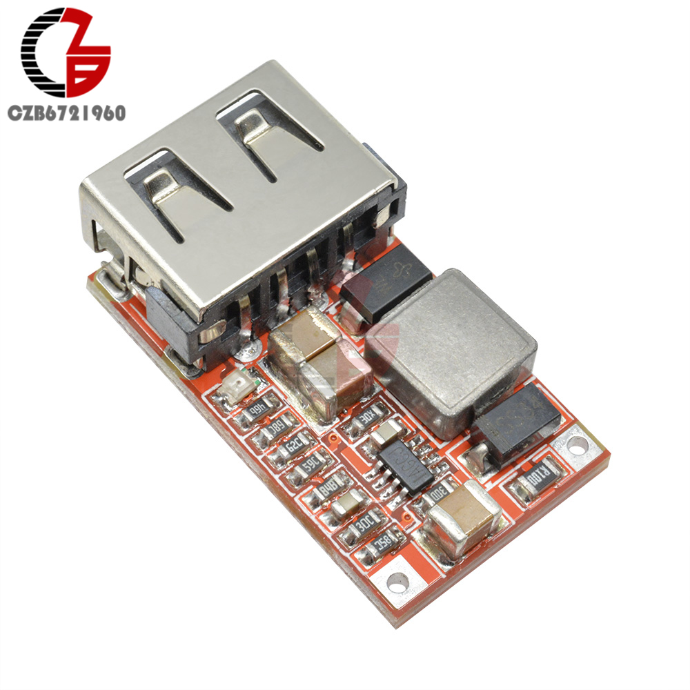 9V 12V 24V to 5V 3A CAR USB Charger Module DC-DC Buck Step Down Converter