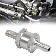 6/8/10/12 мм алюминиевый сплав в одну сторону топливным обратным проверочным клапаном бензин дизельного топлива для машинный вакуумный шланг в...