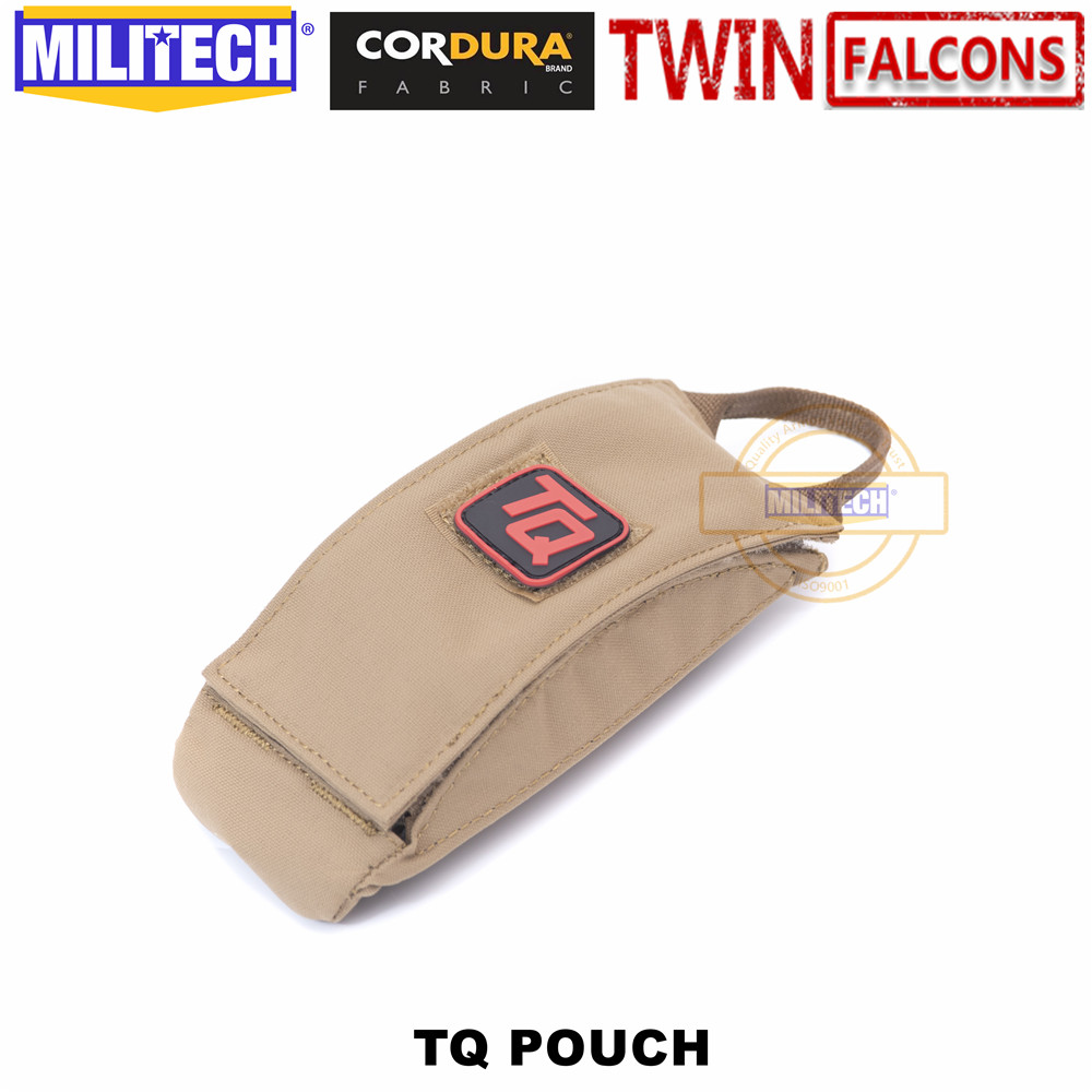 MILITECH TWINFALCONS TW Delustered ITS Tourniquet Quick Pouch First Aid TQ Pouch CORDURA Modular SOF IFAK Medical EMS Pouch