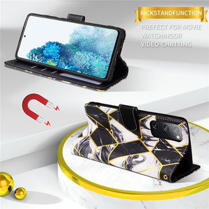 Image 5 - Moda Flip standı kılıf Samsung Galaxy S20 FE S21 artı S10 S9 S8 not 20 Ultra 10 Lite cüzdan kart kapak Coque Etui