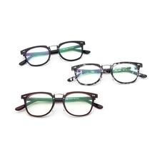 Vintage Anti Blue ray Glasses Frame Women Reading Goggle Blue