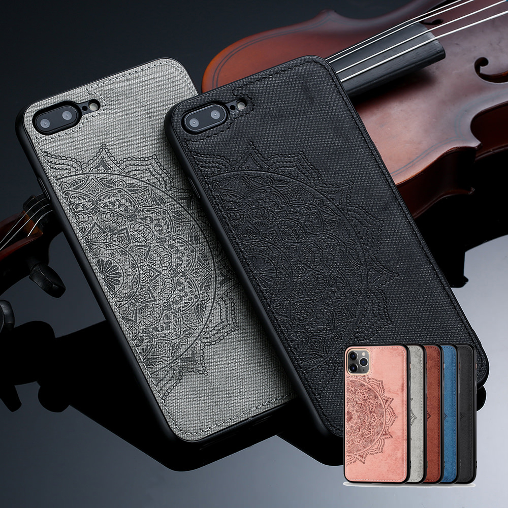Mandala Datura Floral Case for IPhone SE 2020 11 12 Pro X Xr Xs Max Cover for 6S 6 8 7 Plus Flower Shockproof Thin Slim Coque