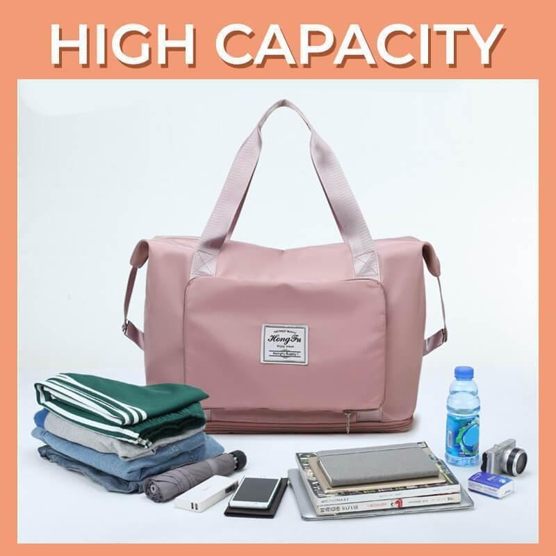 Foldable Large Capacity Travel Duffel Bag