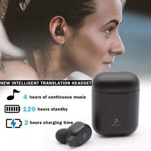 Наушники Peiko S Translator на 33 языках мгновенно переводят беспроводной умный голосовой переводчик Bluetooth гарнитура переводчики kk