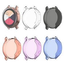 Transparent TPU soft plastic case anti-fall cover for Samsung Galaxy watch active