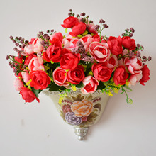 Hading wall vase for artificial flowers room decor yard garden decoration aesthetic Ornaments for home