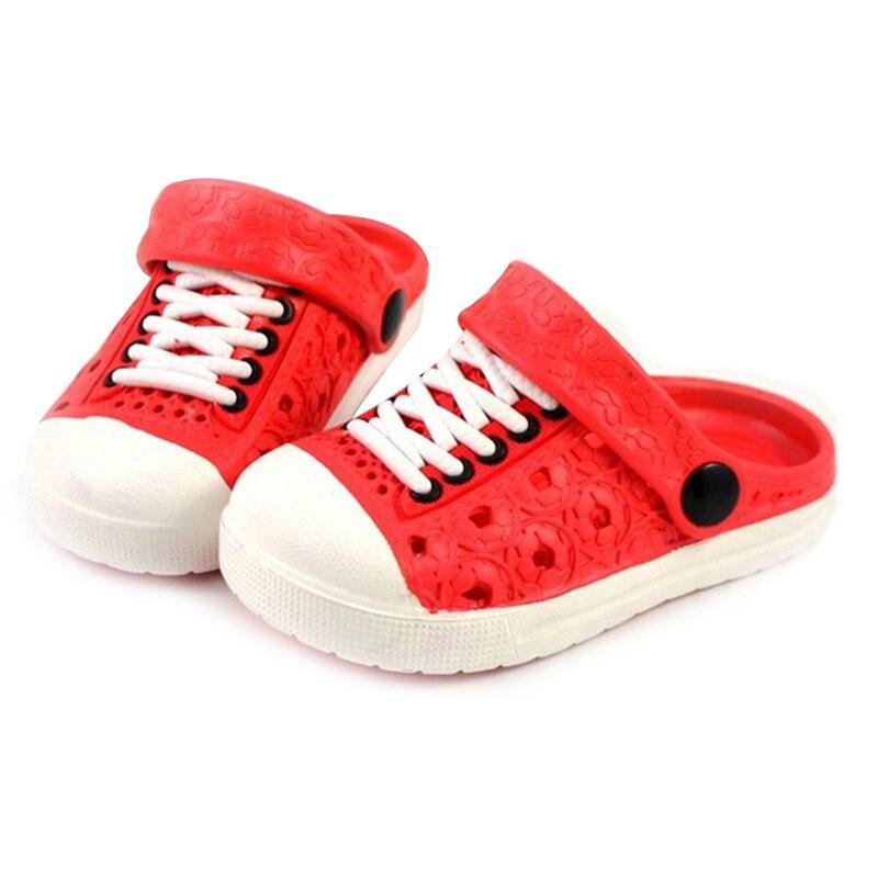 1 Pair Children Kids Slippers Sandals Anti-slip Breathable For Summer Beach NSV775