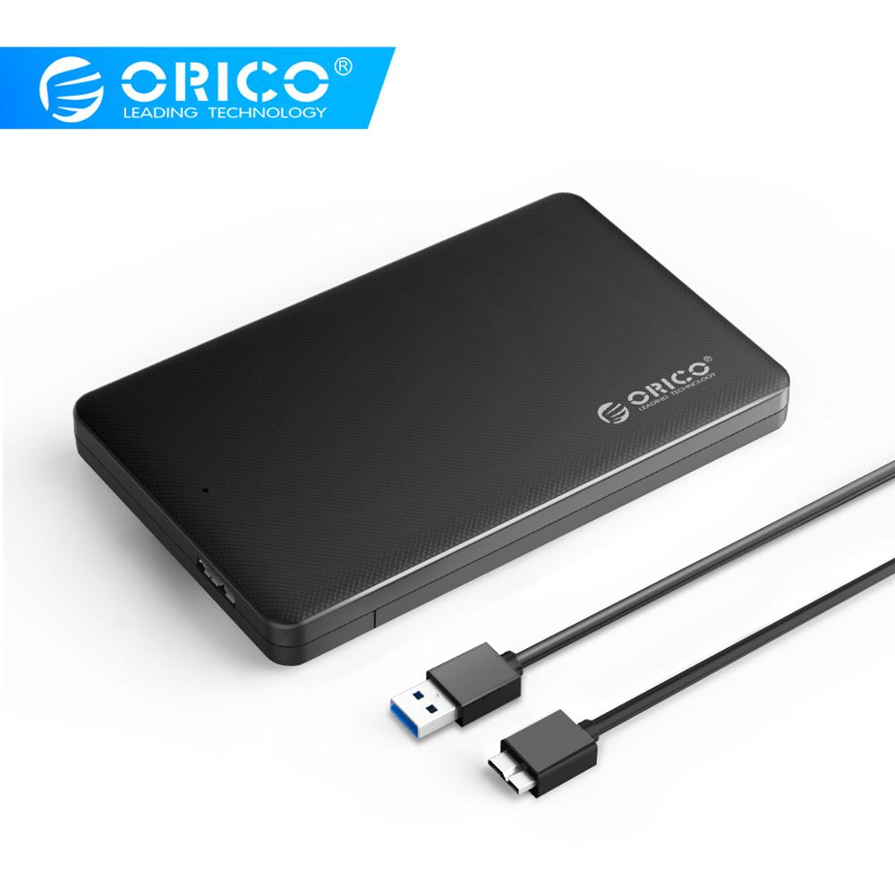 ORICO 2.5 Inch Hdd Case Sata To Usb 3.0 HDD Case SSD Adapter For Samsung Seagate SSD Hdd Enclosure Hard Disk External Box
