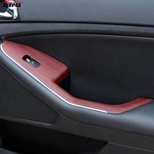 Car Styling Car Wrap Film PVC 30*100cm  Protective 4 Colors Auto Decors 3D Car Stickers Wood Grain Textured
