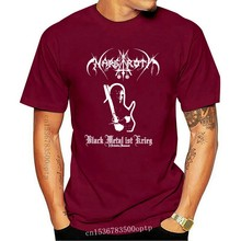 Nargaroth banda black metal ist krieg 2001 álbum capa t camisa
