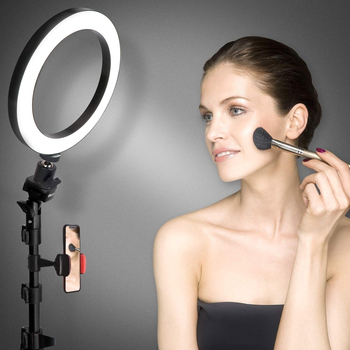 Photo LED Selfie Stick Ring Fill Light 3Modes 26CM With Stand Tripod Dimmable Live Broadcast Fill Light For Makeup Live Video led selfie ring light tripod 26cm photo studio photography photo fill ring lamp with tripod stand for youtube live video makeup