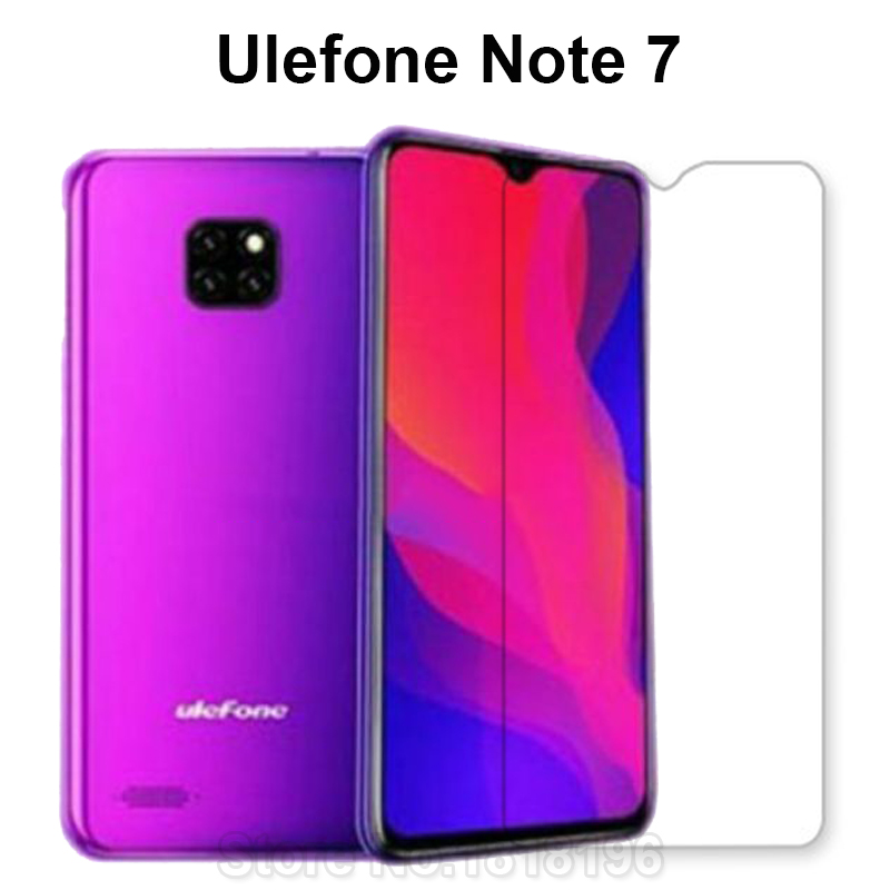 Tempered Glass For Ulefone Note 7 Screen Protector 9H Toughened Protective Mobile Phone film For Ulefone Note 7 Caseglass Cover