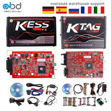 KESS V2 V5.017 K-TAG V7.020 Master EU ECU Программатор V2.47 KESS 5,017 K TAG V2.25 OBDII ECU чип тюнинговый инструмент онлайн работа