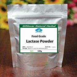 Poudre de Lactase d'enzyme d'approvisionnement Halal, poudre de sucre de lait de Lactose, bêta-galactosidase, importation de supplément de Nutrition de catégorie supérieure de chine