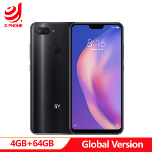"Image 1 - Global Version Xiaomi Mi 8  Mi8 Lite 4GB Ram 64GB Rom Snapdragon 660 AIE 6.26"" Full Screen 24MP Front Camera Cellphone"
