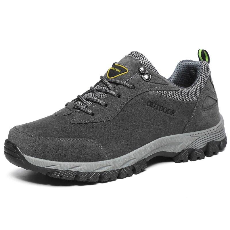 Big Size 49 Men Hiking Shoes Waterproof Outdoor Sport Shoe Brand Military Mountain Climbing Men Sneakers Nonslip Trekking Shoes