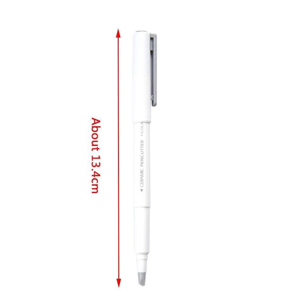 Best Promo #b0adb - Creative Paper Pen Knife Wear-Resisting Newspaper Hand  Ceramic 13cm Tape Paper Book Knives Cutting Blade Cutter C0K8 | Cicig.co