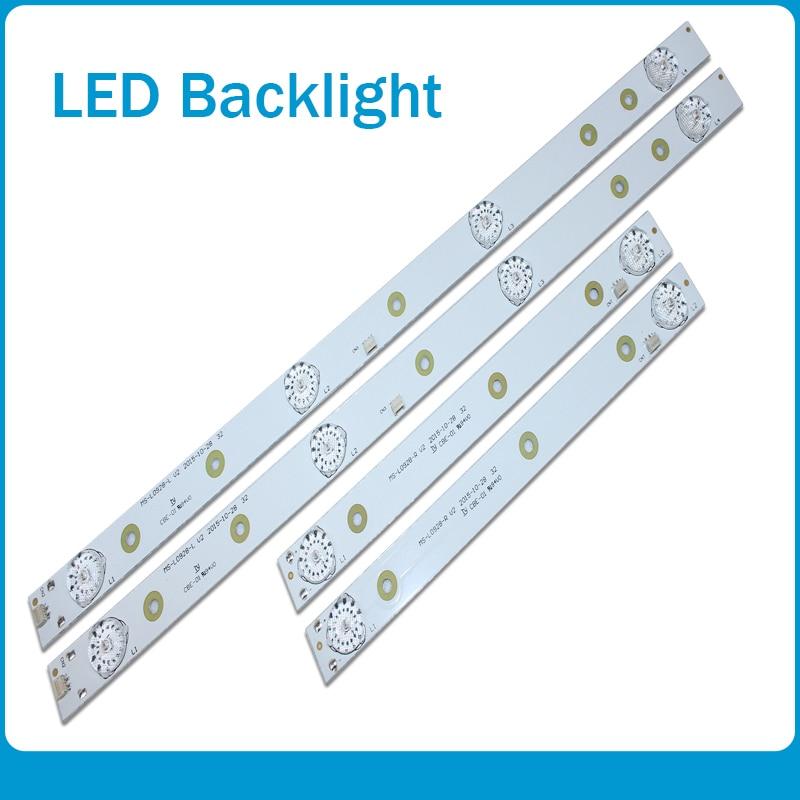 LED Backlight Strip Lamp For AKAI AKTV3221 32LED38P Smart JS-D-JP3220-041EC E32F2000 D32-0A35