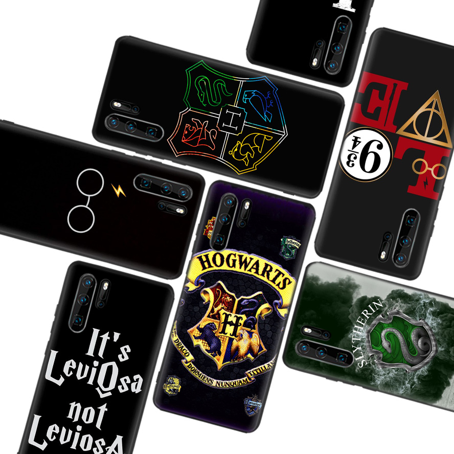 Potter Love Black Soft <font><b>Case</b></font> for <font><b>Huawei</b></font> P30 P20 <font><b>P10</b></font> Lite Pro P Smart Z 2019 Mate 30 10 20 Lite Phone <font><b>Case</b></font> Cover image