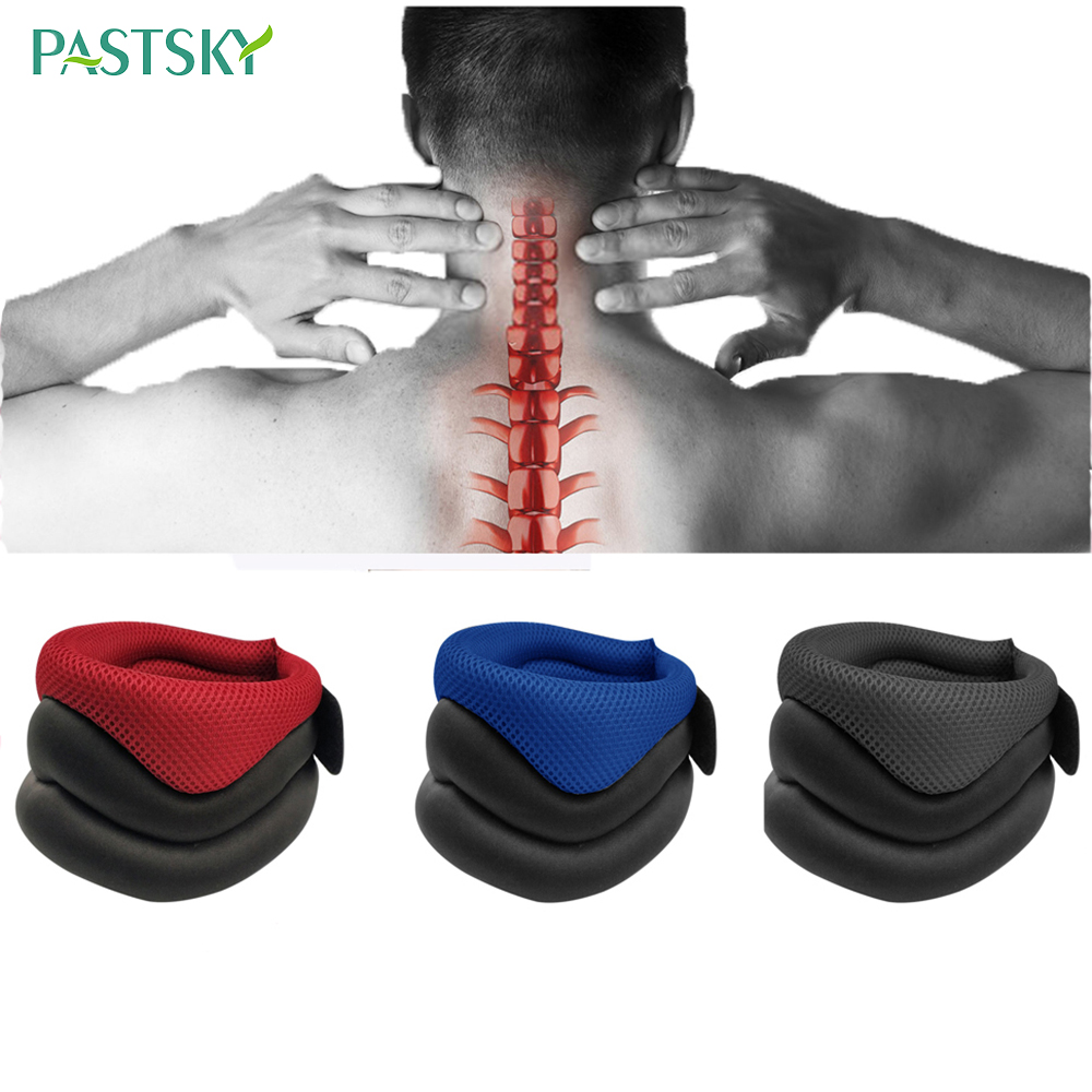 Elastic Collar Cervical Traction Breathable Belt Neck Care Posture Corrector Pain Relief Relief Office Fatigue Head Support