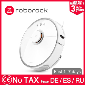Image 1 - New 2019 Original CE Roborock S50 S55 XIAOMI MIJIA Robot Vacuum Cleaner Home 2 WIFI Smart Planned washing Cleaning Sweep Wet Mop
