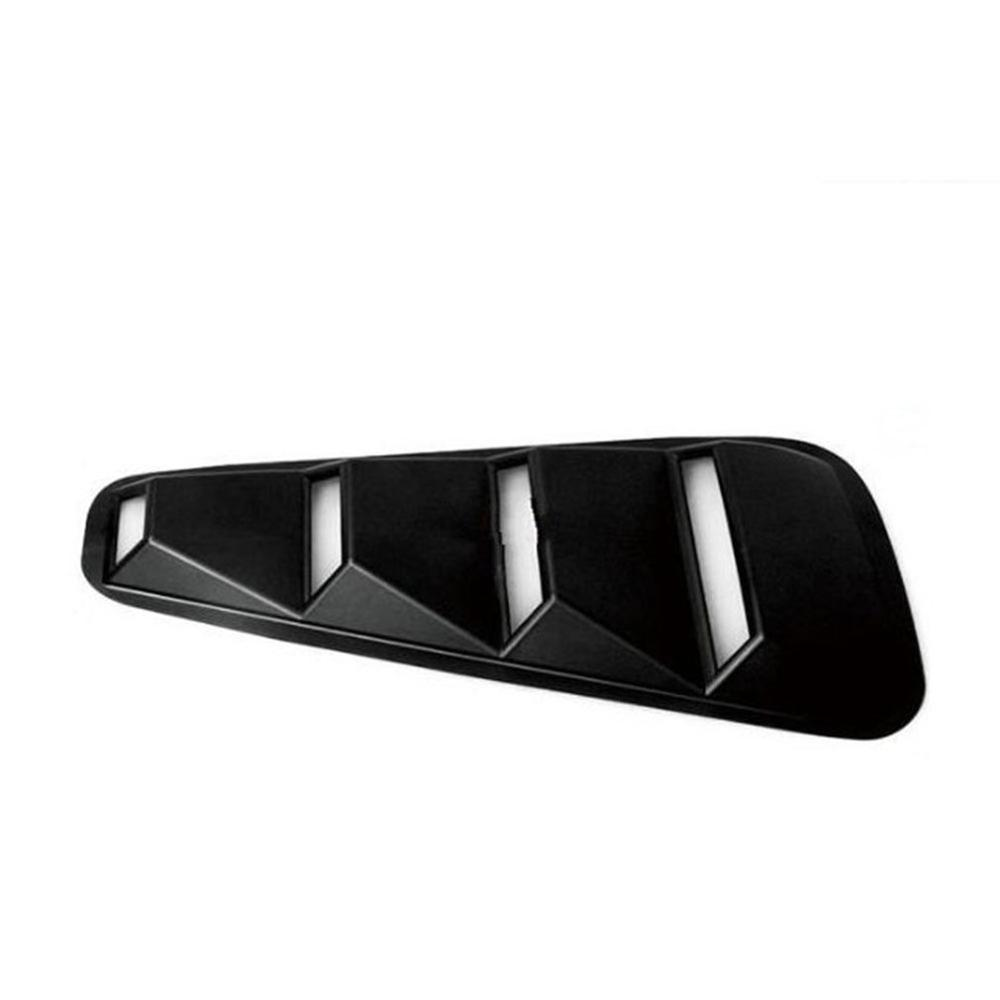 For 05-14 Ford Mustang Side Window Blinds Vents Black Air Intake Panel Car Modification Accessories