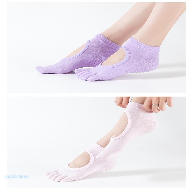 meias antiderrapantes meias de yoga respirável vendendo esportes