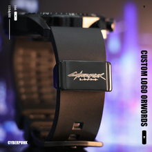 Watch Strap Metal Travel Holder Locker Buckle Suitable for Seiko Watch Casio Watchband Ring Tactics DIY Man Army 20mm 22mm Swing