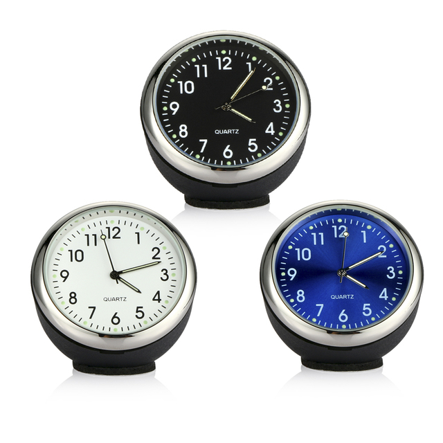 Car Clock Ornament Auto Watch Decoration Automobiles Interior Dashboard Time Display Digital Pointer Clock In Car