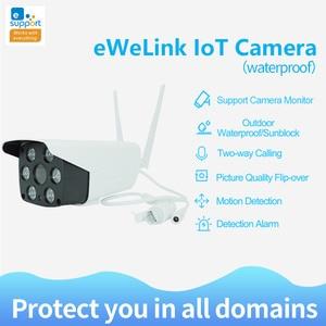 Image 2 - EweLink IP66 Chống Nước Ngoài Trời Camera Wifi Thông Minh IOT Camera HD 1080P Âm Thanh Hai Chiều Liên Lạc Nội Bộ Tầm Nhìn Ban Đêm Hồng Ngoại đèn LED Máy Ảnh