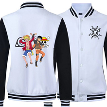 Naruto One Piece bomber jacket  clothes Autumn Winter Male Bomber Jacket Streetwear Baseball Jackets for Man Mens Coats
