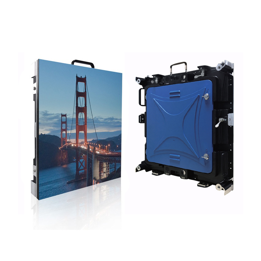 Outdoor P3mm 576x576mm Led Display Screen Die Casting Aluminum Waterproof Cabinet, 192x192dots rental led video wall TV panels