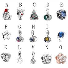 2020 inverno novo 925 prata camadas e flos de neve charme caber pan original pulseira joias de natal