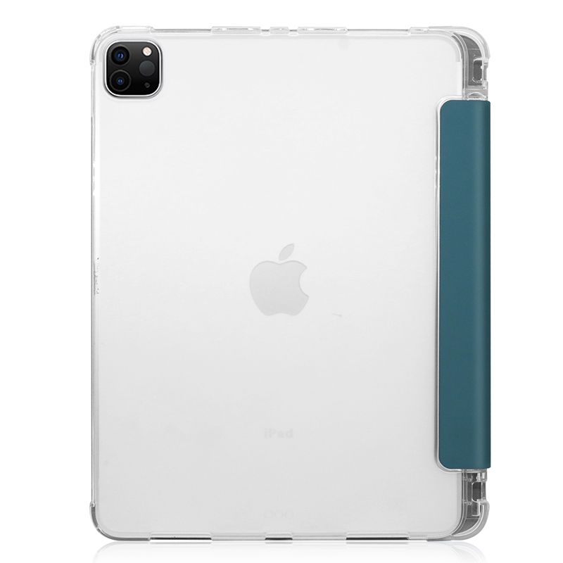 A2228/A2068/A2230 Case with 11inch iPadpro11 Pen-Holder PU for Transparent-Cover Pencil-Slot