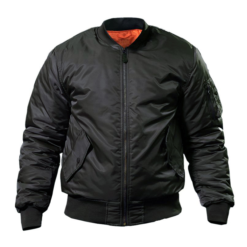 MA1 Pilot Bomber Jackets Winter Windproof Warm Jackets Mens Tactical Military Waterproof Coat High Quality Casual Clothing