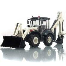 1:50 kdw liga fundição escavadeira inércia 4 roda pá carregador de duas vias empilhadeira bulldozer retroescavadeira caminhão modelo brinquedo
