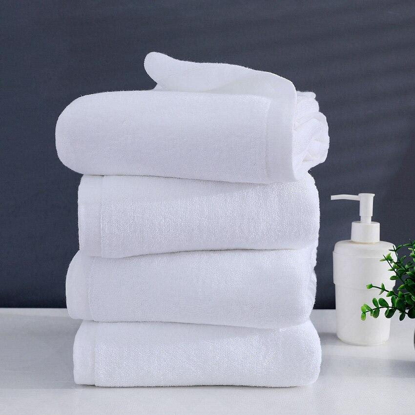 Большое белое банное полотенце, толстое Хлопковое полотенце для лица для душа, домашняя ванная комната, отель для взрослых, Badhanddoek Toalha de banho ...
