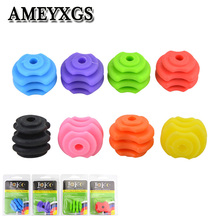1pc Archery Bowstring Stabilizer Ball Rubber Bow String Suppressor  For Outdoor Hunting Sports Shooting Accessories