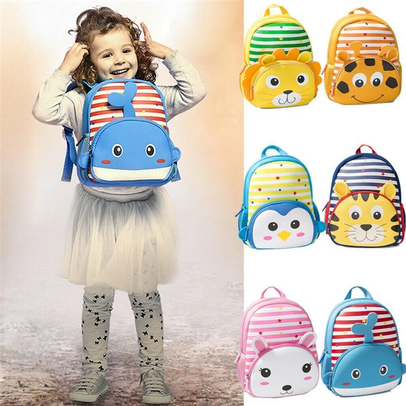 Cute Cartoon Rabbit Enfants Maternelle School Bag Peluche Fille Garçon Sac à dos