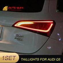 Araba Styling arka lambası park lambaları durumda Audi Q5 arka lambası 2009 2015 LED kuyruk lambası arka bagaj lambası Audi Q5 arka lambaları