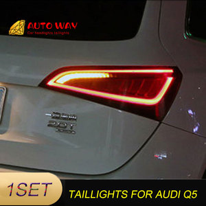 Image 1 - Araba Styling arka lambası park lambaları durumda Audi Q5 arka lambası 2009 2015 LED kuyruk lambası arka bagaj lambası Audi Q5 arka lambaları