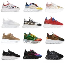 Sport-Shoes Chain Reaction Sole Designer Mens Sneakes Outdoor Casual Women Original Lightweight