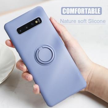 Soft Silicone Galaxy S10 Plus Cover 2