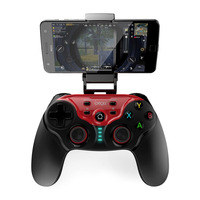 PG 9088 Wireless Gamepad Joystick Game Holder Bluetooth Controller for Android/iOS//Win 7/8/10 Smartphone/PC/TV Box