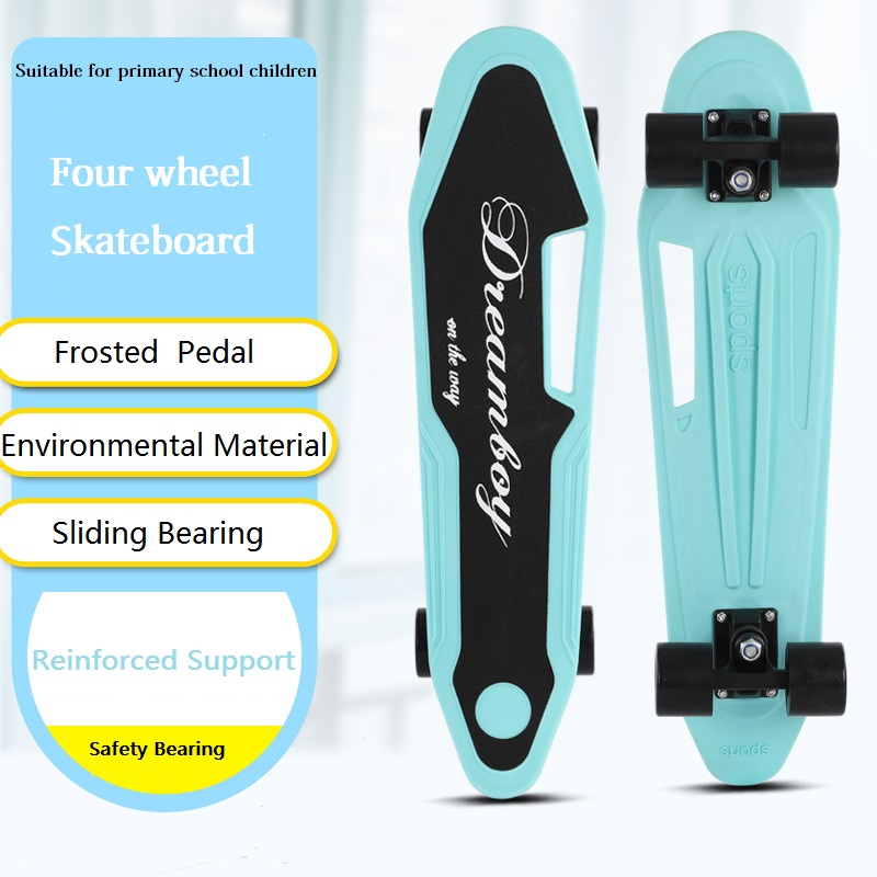 Outdoor Sports Four-wheeled Skateboarding Beginner Adult Boy Girl Teen Paddle Child Professional Scooter 6-12 Years Old