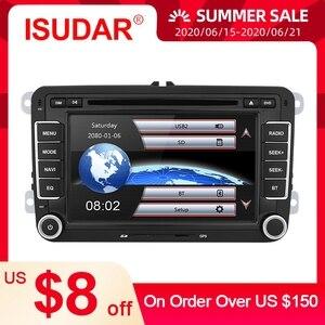 Image 4 - Isudar Car Multimedia player 2 Din Car DVD For VW/Volkswagen/Golf/Polo/Tiguan/Passat/b7/b6/SEAT/leon/Skoda/Octavia Radio GPS DAB