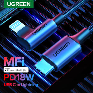 Ugreen MFi USB C to Lightning Cable for iPhone 11 Pro Max SE PD18W Fast Charging Data
