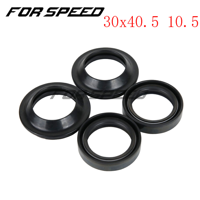 30*40.5 30x40.5 10.5 Double Spring Motorcycle Rubber Gasket Front Fork Damper Oil Seal Dust Cover DC For YAMAHA BWS100 4VP